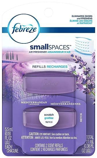 Amazon.com: Febreze Small spaces Mediterranean Lavender Refills Air ...