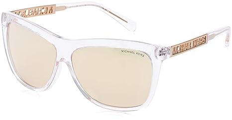 3fb3b68b78 Image Unavailable. Image not available for. Colour  Michael Kors Women s  Benidorm MK6010-3014R1-59 Light Pink Square Sunglasses