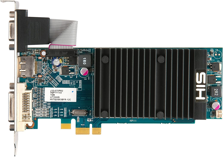 HIS H545H1GD1 Radeon HD5450 1GB GDDR3 - Tarjeta gráfica (Radeon ...