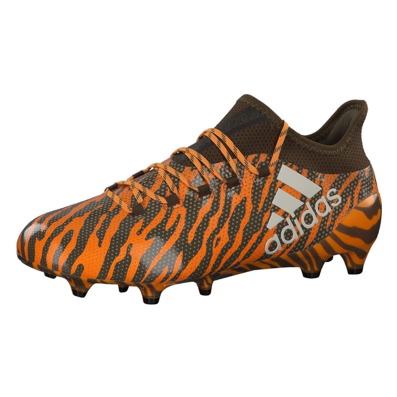 Adidas X 17.1 FG, Botas de Fútbol para Hombre 47 1/3 EU|Naranja (Narbri/Talco/Olitra 000)
