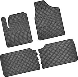 Gummimatten für Mazda RX8 4tlg Bj.03 Band Schwarz