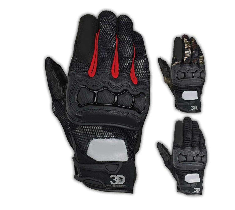 Blisfille Handschuhe Arbeit Herren Knight Racing Wear Handschuhe Ausrüstung Motocross Outdoor Sports Handschuhe Langer Finger Atmungsaktiv