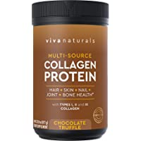 Viva Naturals Collagen Protein Powder, Premium Quality Collagen Protein Providing...