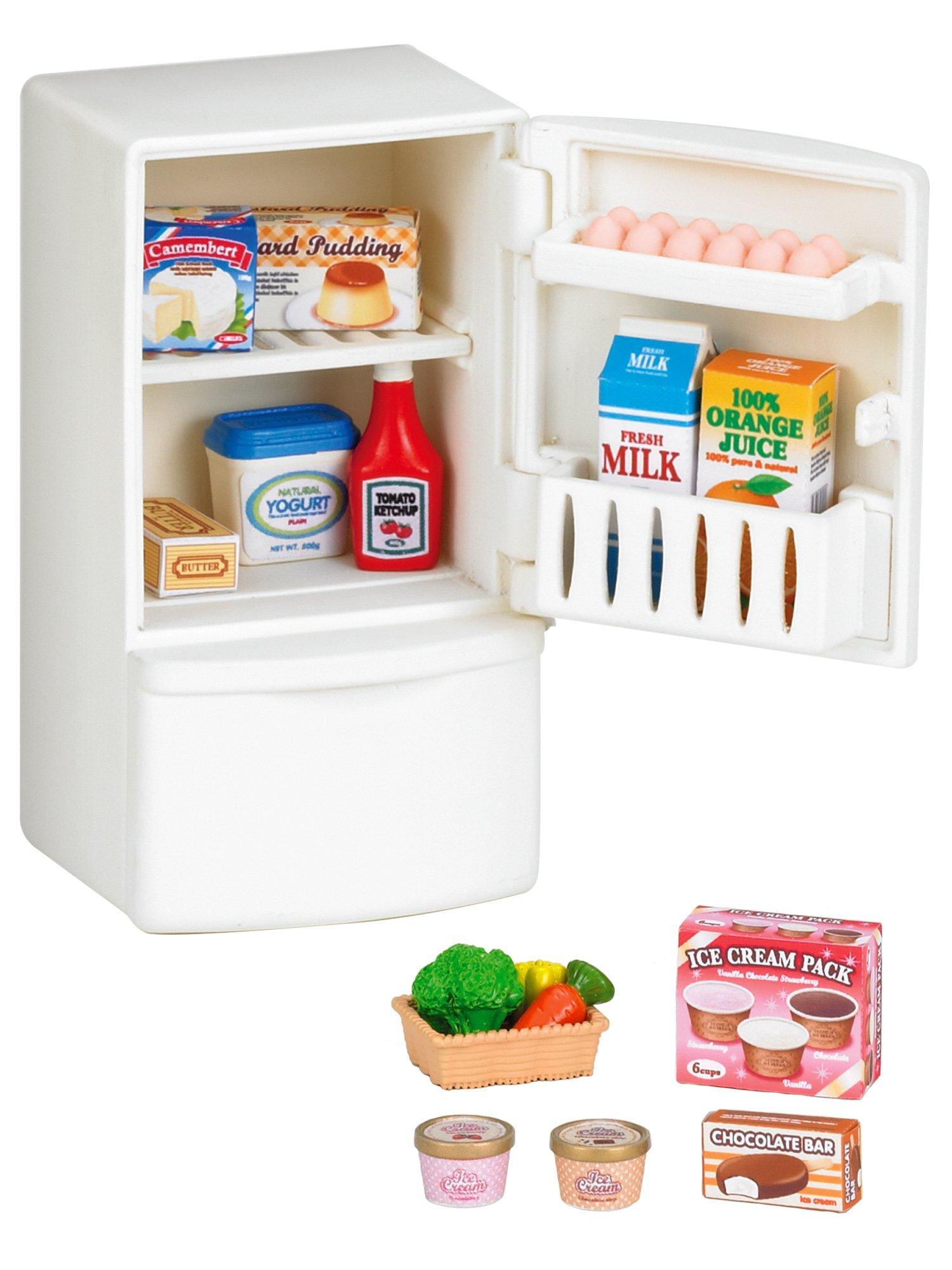 Sylvanian Families-8718637035662 Animales Set refrigerador Epoch para Imaginar 3566 product image