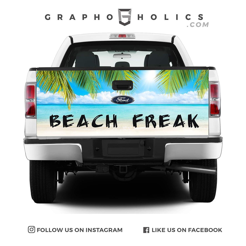 Pick-Up Truck Tailgate Wraps Beach Freak