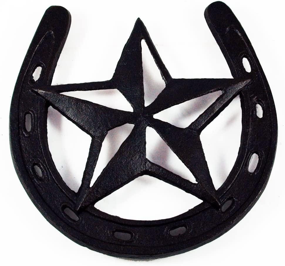Western Star Trivet Cast Iron -Rustic Home Essentials Decor