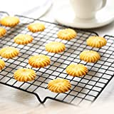 SYGA Nonstick Wire Cookie Cooling Rack for Baking Oven Safe Steel