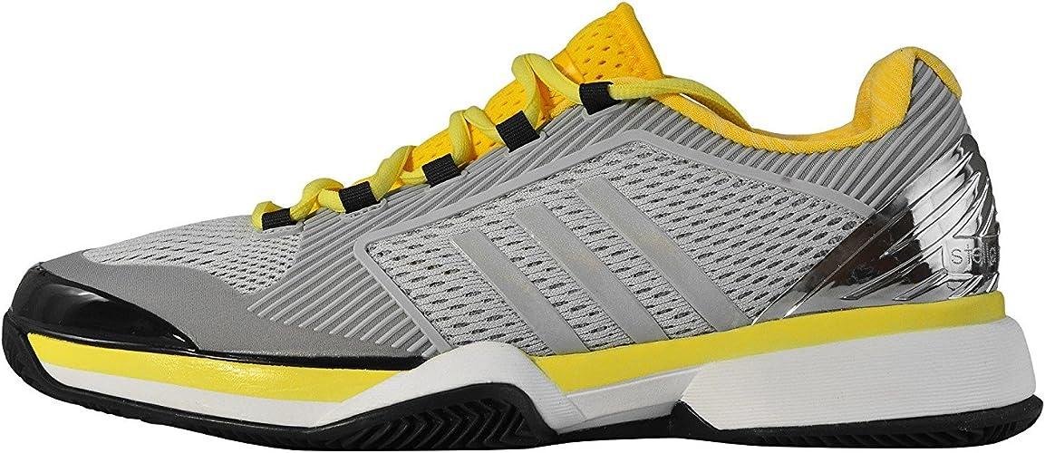 adidas ASMC Barricade 2015 Clay, Zapatillas para Mujer, Gris/Plata ...