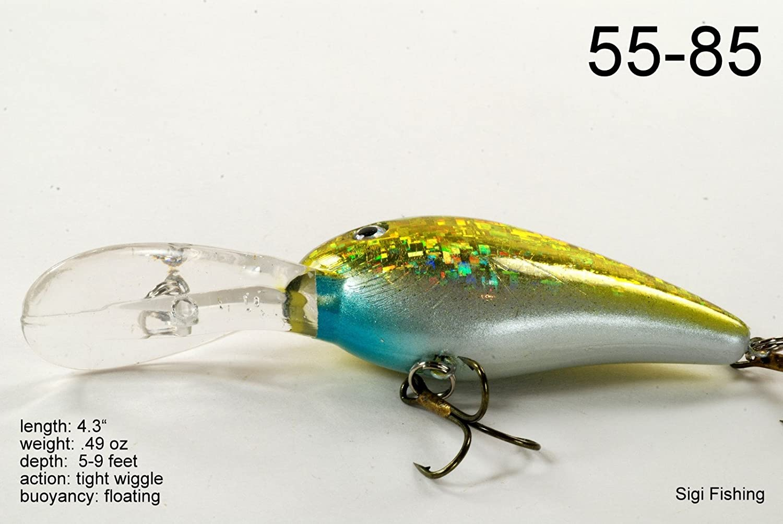 Akuna Bush Whacker Series 4-inch Diving Lure