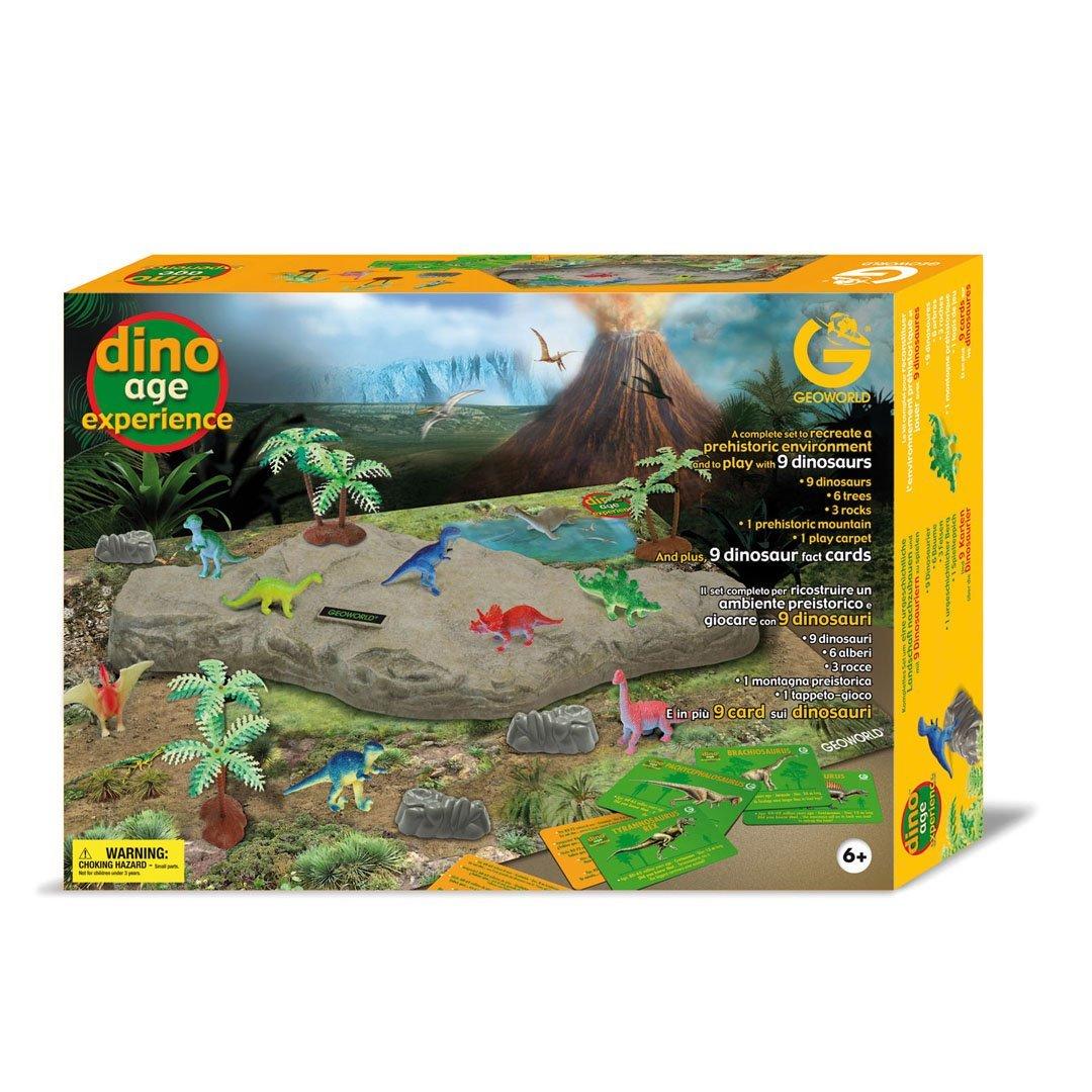 Geoworld Dino Age Experience Dinosaurs Kit, Set of 9