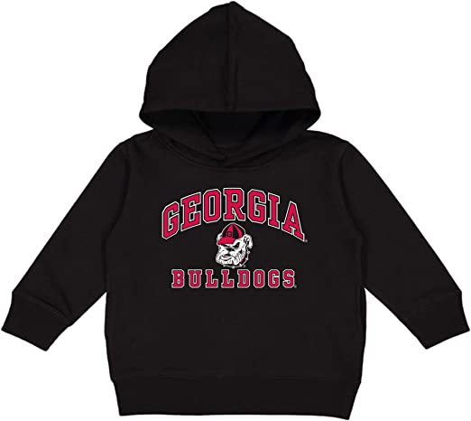 College Kids Georgia Bulldogs NCAA Toddler Fleece Crew Neck Sweatshirt