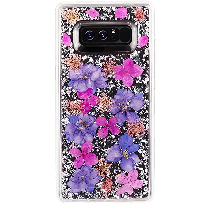 finest selection b657b fc029 Case-Mate Note 8 Case - KARAT PETALS - Made With Real Flowers - Military  Drop Protection - Slim Protective Design for Samsung Galaxy Note 8 - Purple  ...
