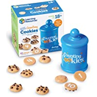 Learning Resources Smart Counting Cookies, Todder Counting & Sorting Skills, 13 Piece Set, Ages 2+