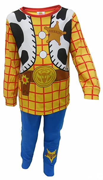 ac193c09c Boys Toy Story Buzz LightYear Or Woody Dressing Up Pyjamas 18-24m 2-3y