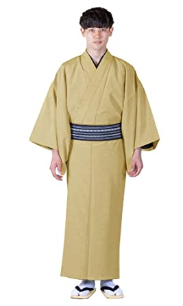 e432a934b15056 Amazon | [キョウエツ] 着物 洗える 袷着物 無地 紬 和服 メンズ | 着物 通販