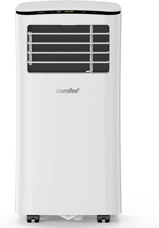 Comfee MPPH-08CRN7 Climatizador móvil, 1100 W, 230 V, Blanco, 34,5 ...