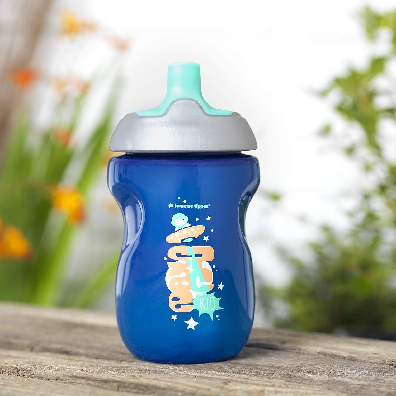 Blau Tommee Tippee Active Sportflasche auslaufsicher BPA frei 12+ Monate