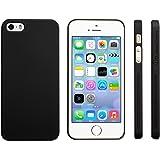 Highend berry iPhone SE 5s 5 アイフォン ラバー コート ブラック ハード ケース マット ブラック