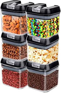 Frebw Stackable Kitchen Storage Containers (G upgraded)