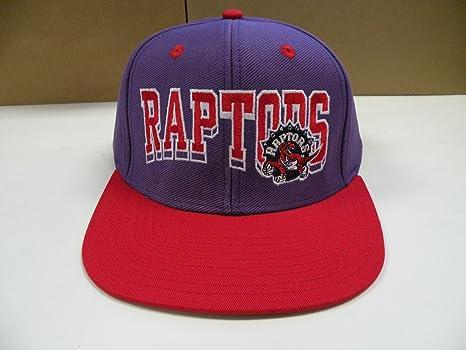 bc39abac3e6c2 Amazon.com   NBA Toronto Raptors Purple 2 Tone Wave Snapback Cap ...