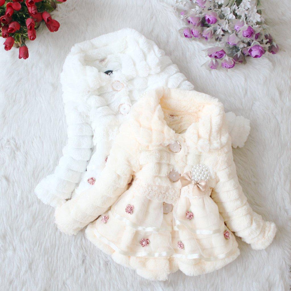 Angeline Baby Girls Winter Autumn Coat Jacket Outerwear