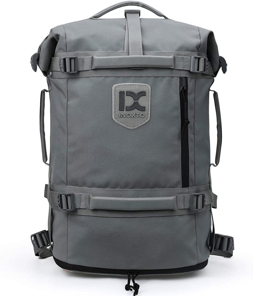 Wxnow Travel Duffel Backpack Outdoor Bag with Shoe Compartment Laptop Bag