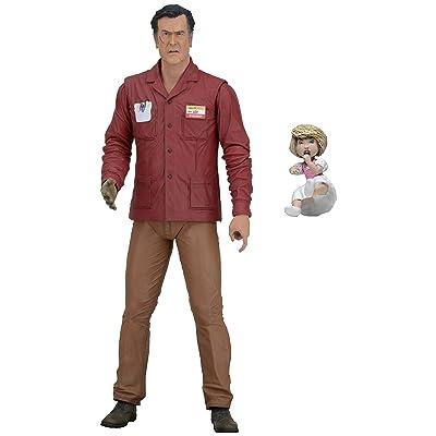 """NECA Ash vs Evil Dead Scale Series 1 Ash Value Stop Action Figure, 7"""": Toys & Games"""