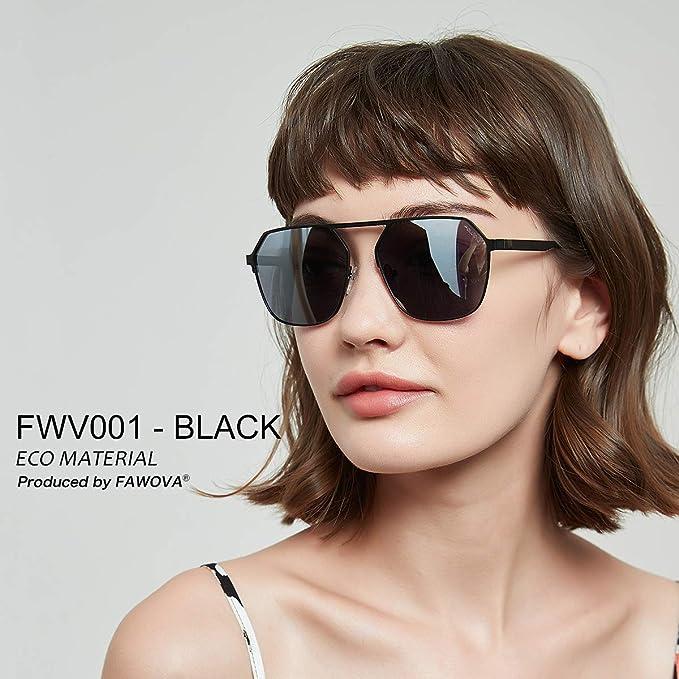 Cat 3 Occhiali da Sole da Donna Rettangolari Retro Vintage Sunoptic UV 400