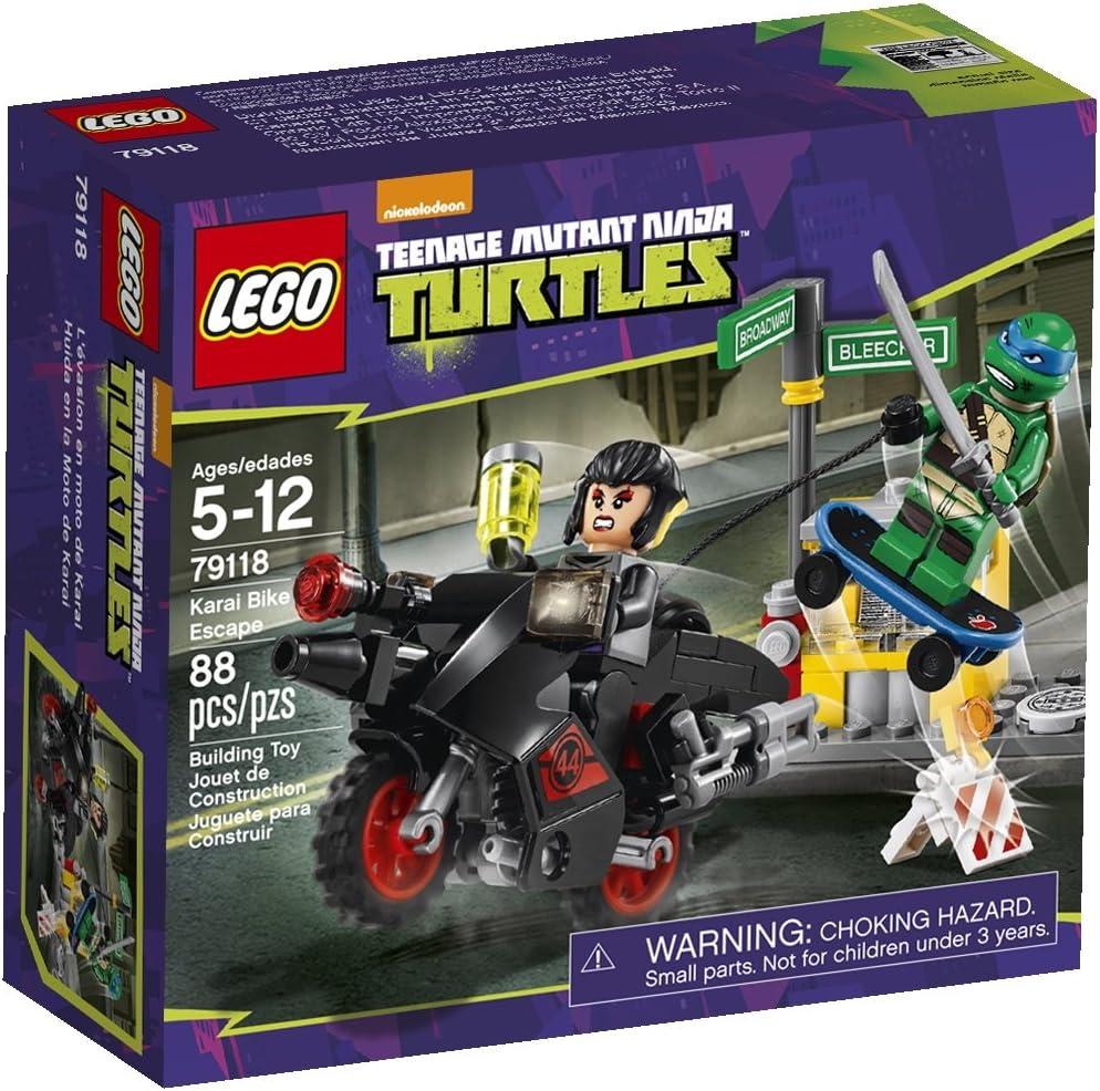 LEGO, Teenage Mutant Ninja Turtles, Karai Bike Escape Building Set (79118)