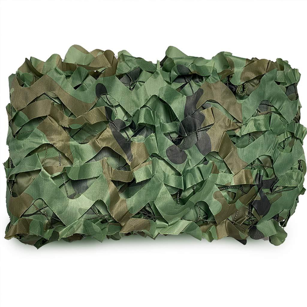 4m×8m Filet de camouflage, filets de prougeection solaire militaires Filet de camouflage léger idéal pour la chasse au parasol aveugle Camping Tir Dissimulation Auvent Parti Décoration Photo de la faune