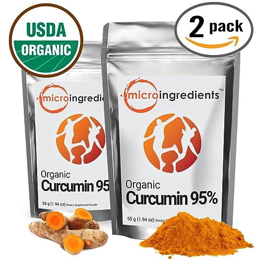Micro Ingredients Organic Curcumin (3.88 oz)