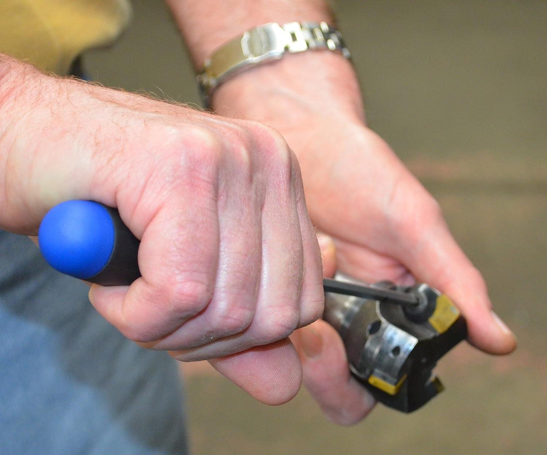 Bondhus 50207 T7 Hex Tip ClickSet Torque Limiting Device Screwdriver Blade with TuffKote Finish