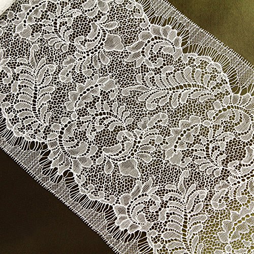 French Leavers Lace - 3 Yards of 7