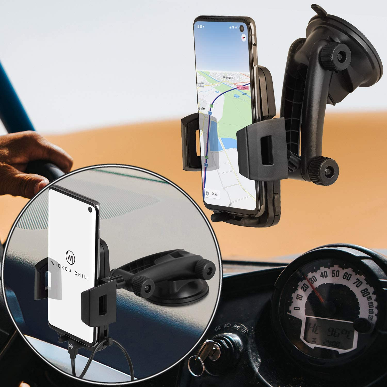 Wicked Chili Handyhalterung Auto Handyhalter Kompatibel Elektronik