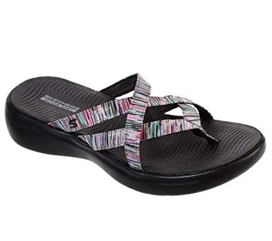 9700946759271 Skechers Performance Women's On The GO 600 Luxe-Luvly Slide Sandal