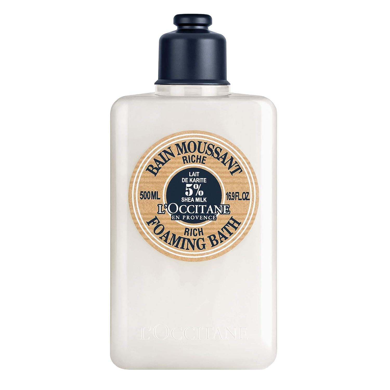 L'Occitane Shea Butter Rich Foaming Bath, 16.9 Fl Oz: Premium Beauty