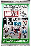 SearchLight Comics 25 Comic Book Collector Starter Set + Bonus Searchlight Comics Sticker