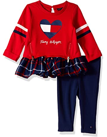 2c2dc35b25f6e Tommy Hilfiger Baby Girls 2 Pieces Tunic Pants Set