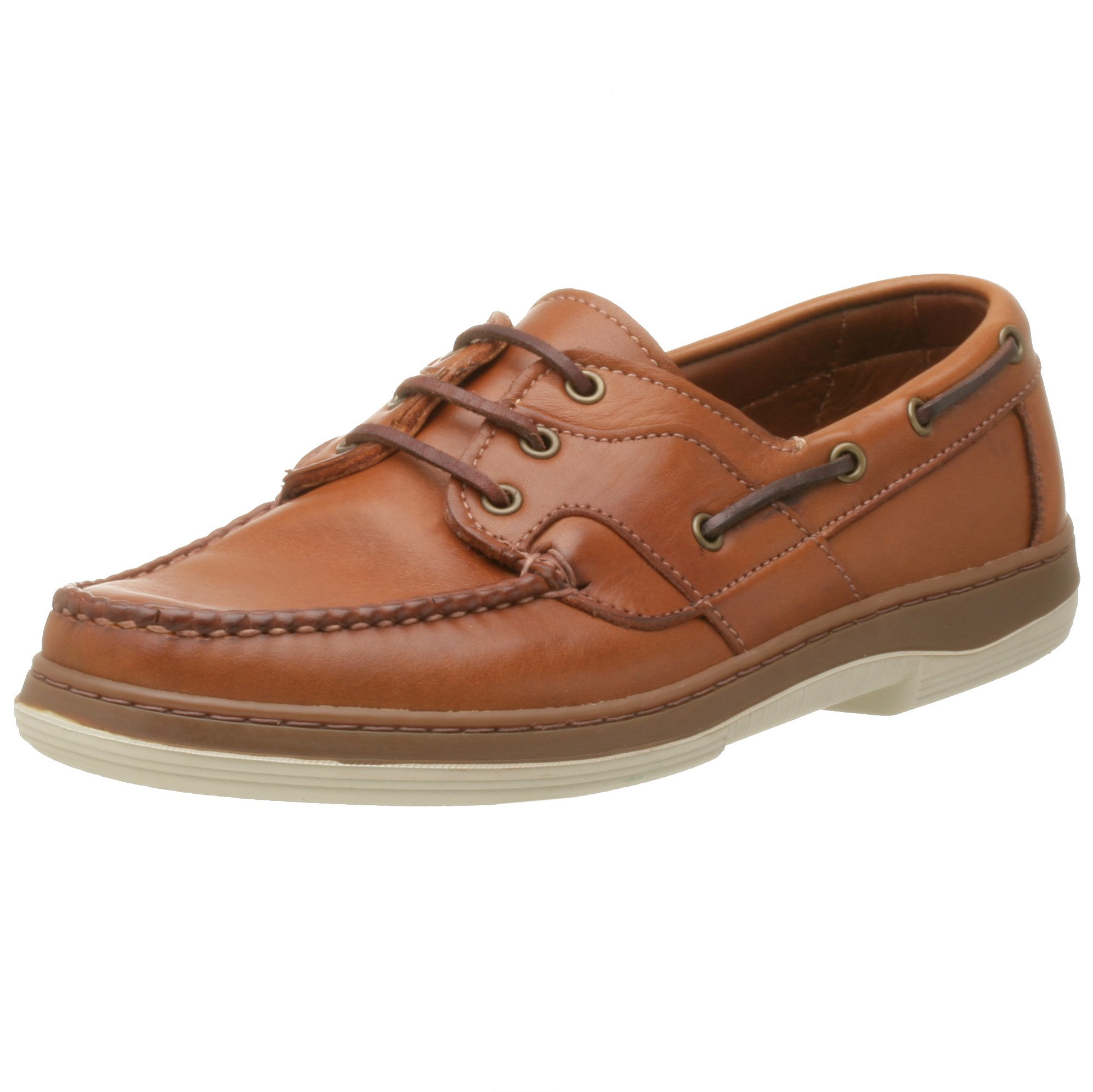 Allen Edmonds Men's Eastport Boat Shoe,Tan,8 D by Allen Edmonds
