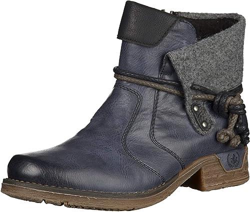 Rieker Damen Kurzschaft Stiefel: : Schuhe & Handtaschen