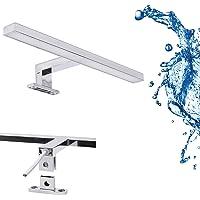 Led-spiegellamp, badkamerlamp, make-uplicht, badkamer, opbouwlamp, kastverlichting, klemlamp, neutraal wit, 230 V, 550…