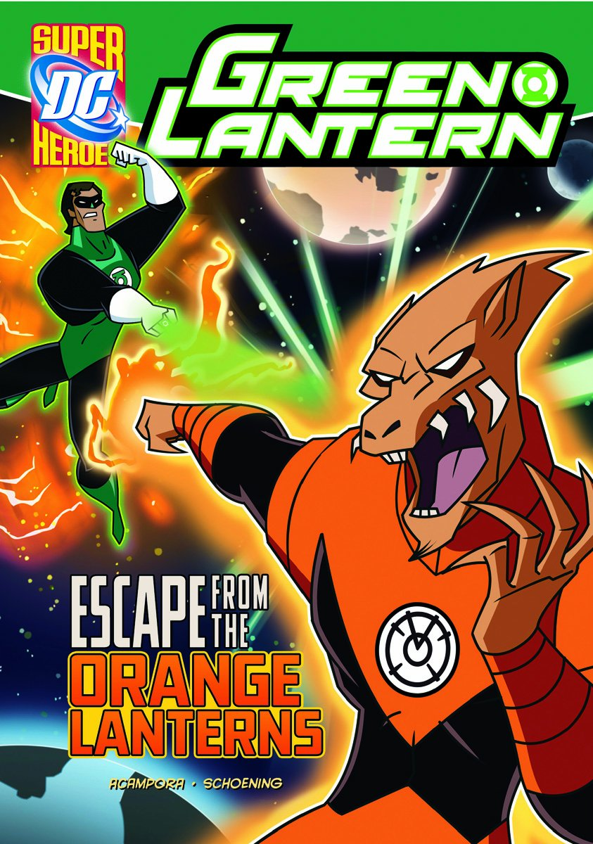 Escape from the Orange Lanterns (Green Lantern)