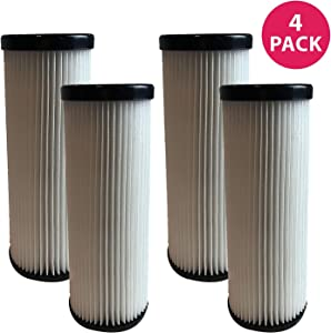 Crucial Vacuum Replacement HEPA Style Vacuum Filter Compatible with Dirt Devil Part # F1,2JC0280000,2JC0360000,3JC0280000 & Models Breeze: M085810,M088150,M088160,M088162,M088175 (4 Pack)