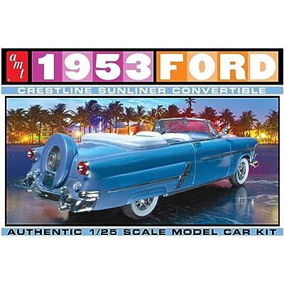 AMT AMT1026 1:25 1953 Ford Crestline Sunliner Convertible: Toys & Games