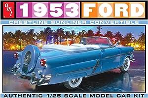 AMT AMT1026 1:25 1953 Ford Crestline Sunliner Convertible