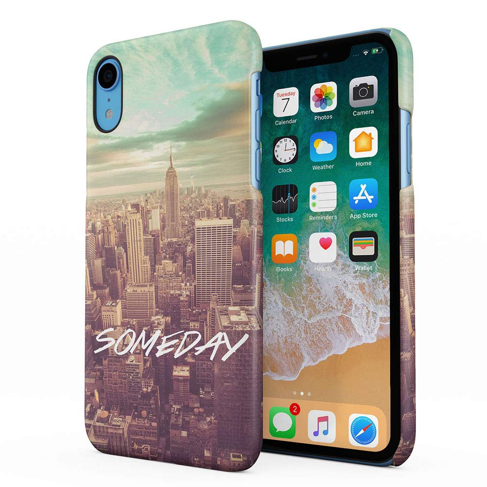 Amazon.com: Someday NY New York City Apple iPhone XR Plastic ...