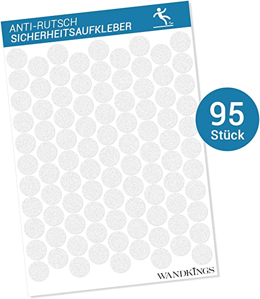 Anti-Rutsch-Sticker für Dusche und Badewanne Transparent Sicherheit 28 Stück