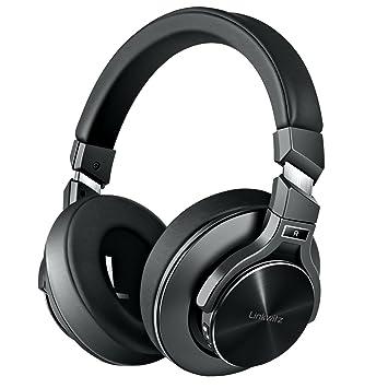 FITFORT Auriculares Bluetooth Cascos Bluetooth Inalámbricos de Diadema, Cancelación Activa de Ruido, Plegable con