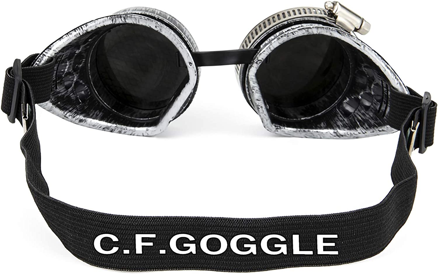Vintage Steampunk Goggles Cosplay Kaleidoscope Glasses Ocular Loupe Eyewear Costume Accessory