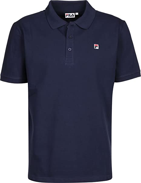 FILA 682161 MEN JARED POLO POLO Uomo Blu L: Amazon.it ...